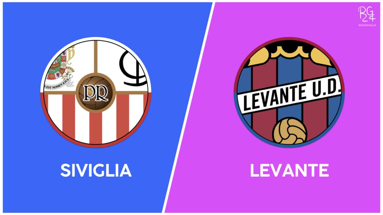 Siviglia-Levante: probabili formazioni