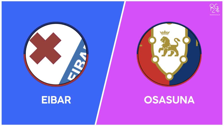Eibar-Osasuna: probabili formazioni