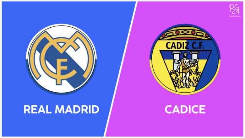 Real Madrid-Cadice: probabili formazioni
