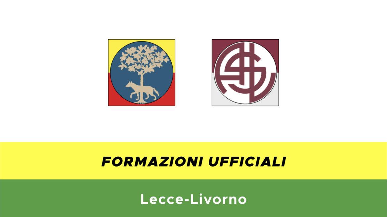Lecce-Livorno formazioni ufficiali