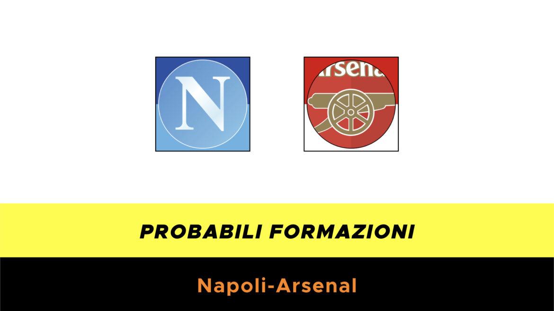 Napoli-Arsenal probabili formazioni