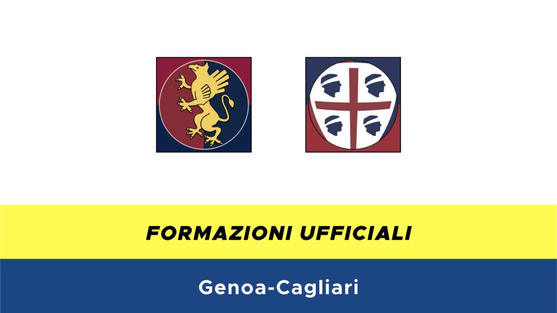 Genoa-Cagliari formazioni ufficiali
