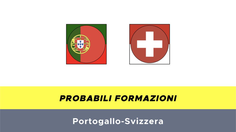 Portogallo-Svizzera probabili formazioni