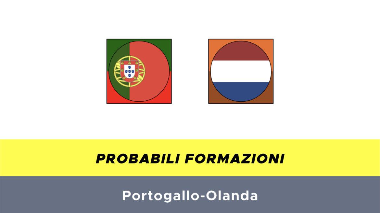 Portogallo-Olanda probabili formazioni