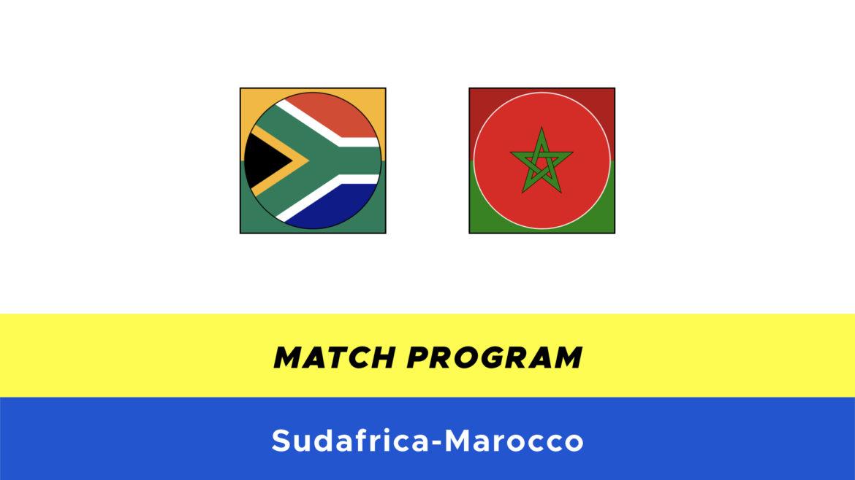 Sudafrica-Marocco probabili formazioni