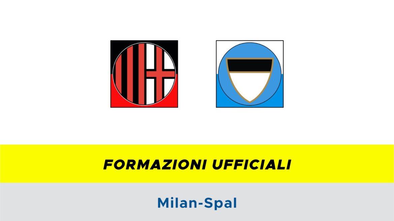 Milan-SPAL formazioni ufficiali