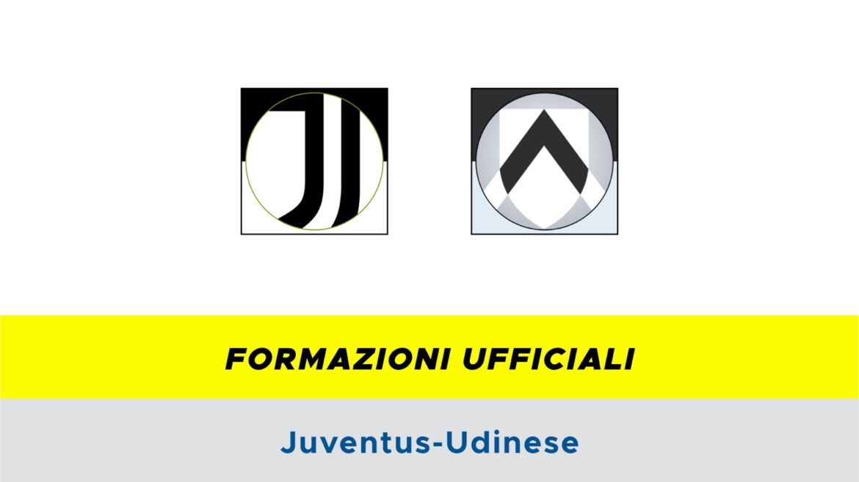 Juventus-Udinese formazioni ufficiali