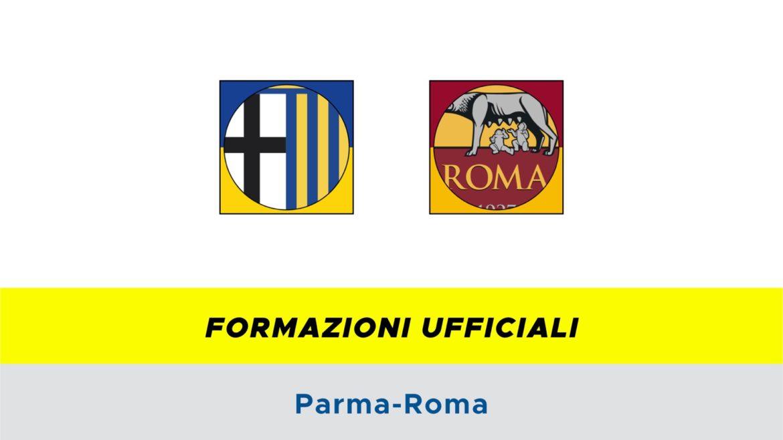 Parma-Roma formazioni ufficiali