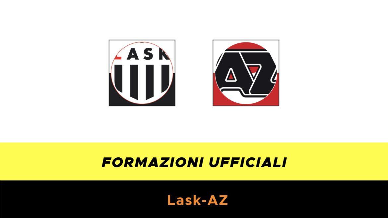 LASK-AZ Alkmaar formazioni ufficiali