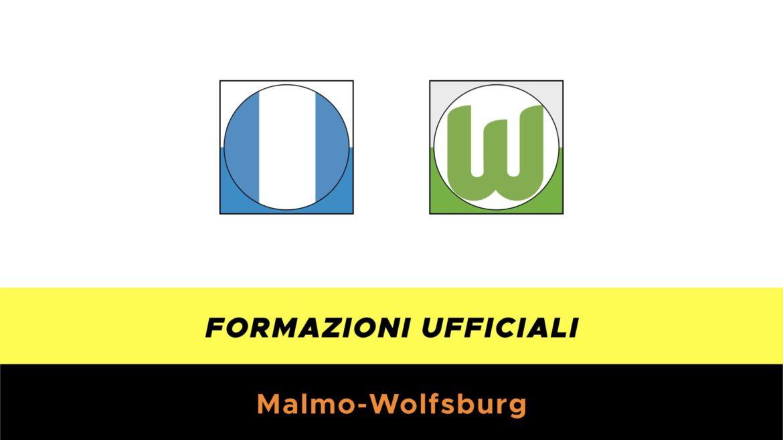 Malmo-Wolfsburg formazioni ufficiali