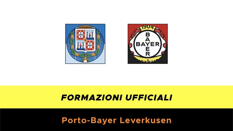 Porto-Bayer Leverkusen formazioni ufficiali