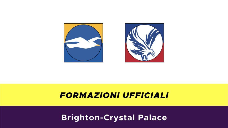 Brighton-Crystal Palace formazioni ufficiali