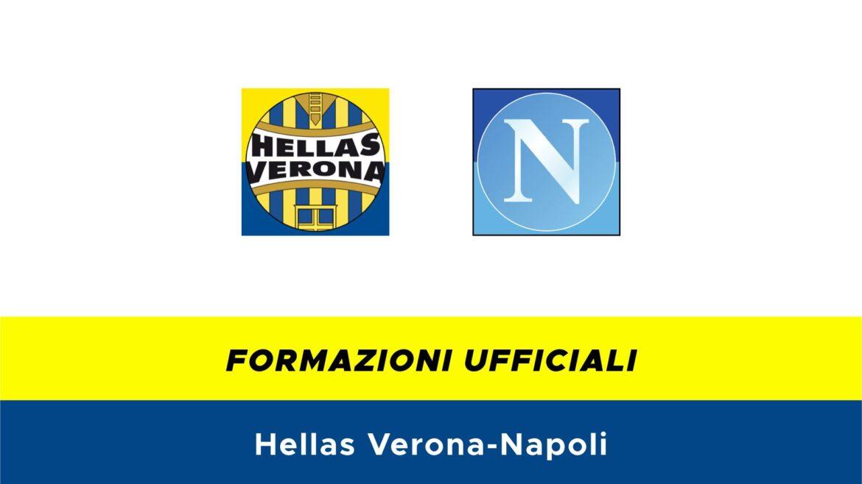 Hellas Verona-Napoli formazioni ufficiali