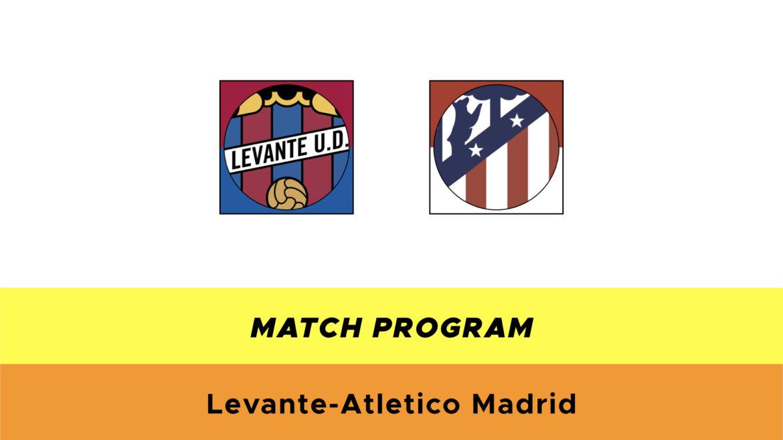 Levante Atltetico Madrid probabili formazioni