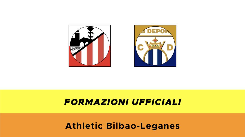 Athletic Bilbao-Leganés: formazioni ufficiali