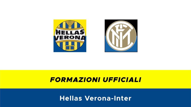 Hellas Verona-Inter formazioni ufficiali