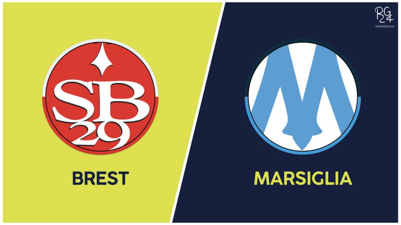 Brest-Marsiglia: formazioni ufficiali