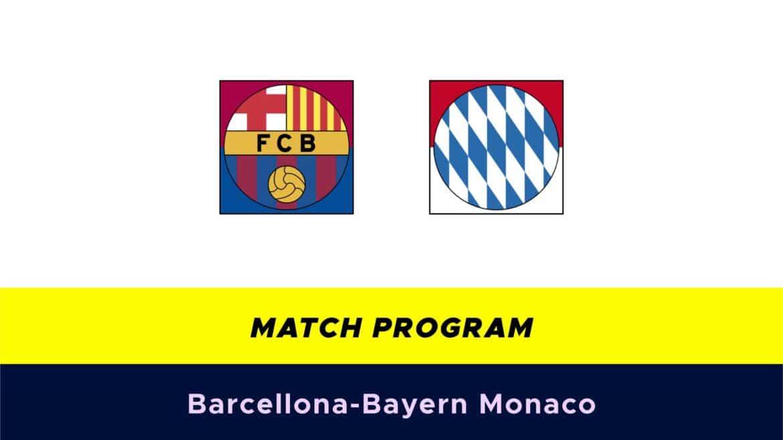 Barcellona-Bayern Monaco: probabili formazioni