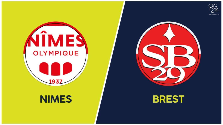 Nimes-Brest: formazioni ufficiali