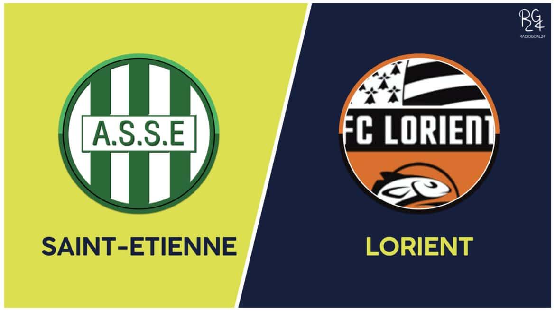 Saint-Etienne-Lorient: formazioni ufficiali
