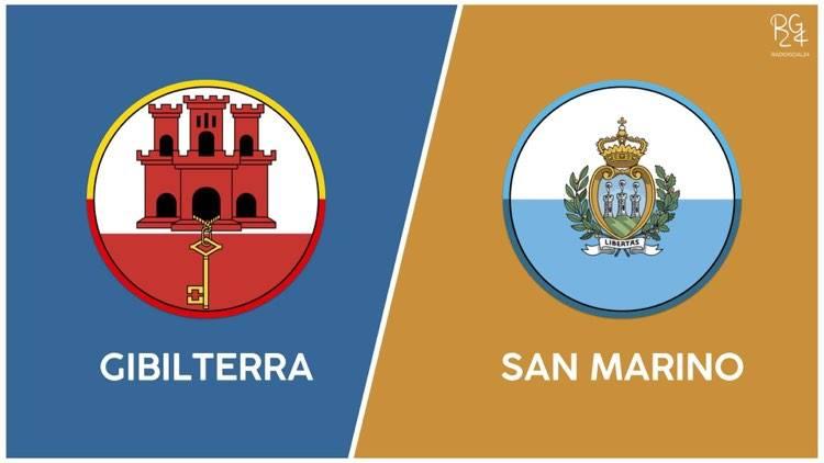 Gibilterra-San Marino probabili formazioni