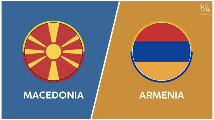 Macedonia-Armenia probabili formazioni