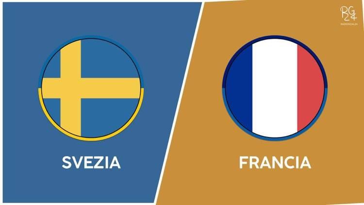 Svezia-Francia probabili formazioni