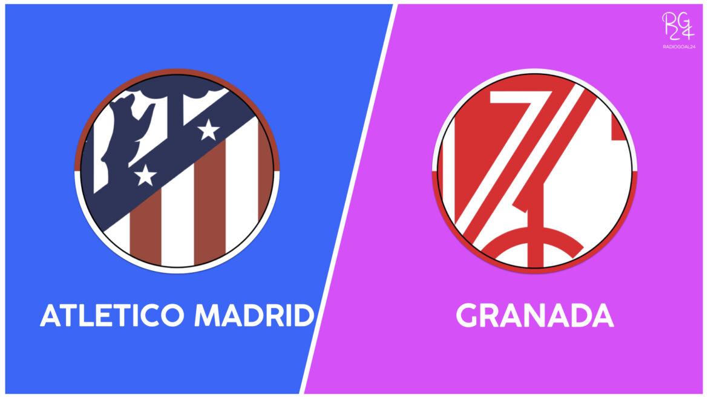 Atletico Madrid-Granada: probabili formazioni
