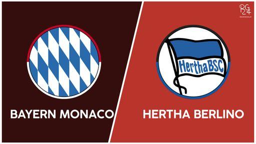 Bayern Monaco-Hertha probabili formazioni