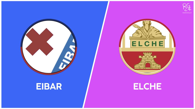 Eibar-Elche: probabili formazioni