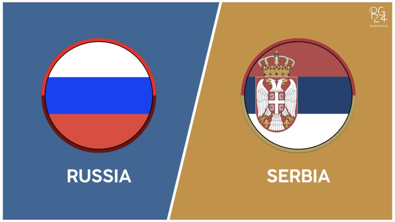 Russia-Serbia probabili formazioni